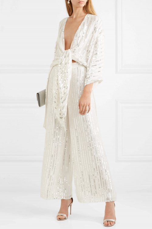 Temperley London - Pantalon à sequins