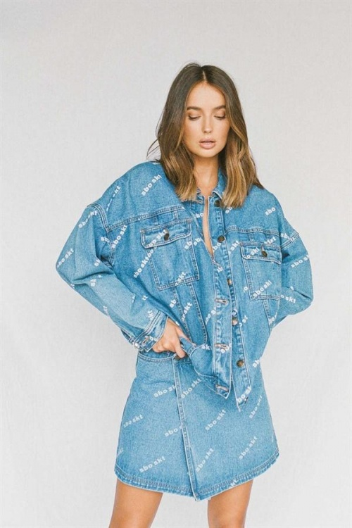 Sabo Skirt - Veste en jean