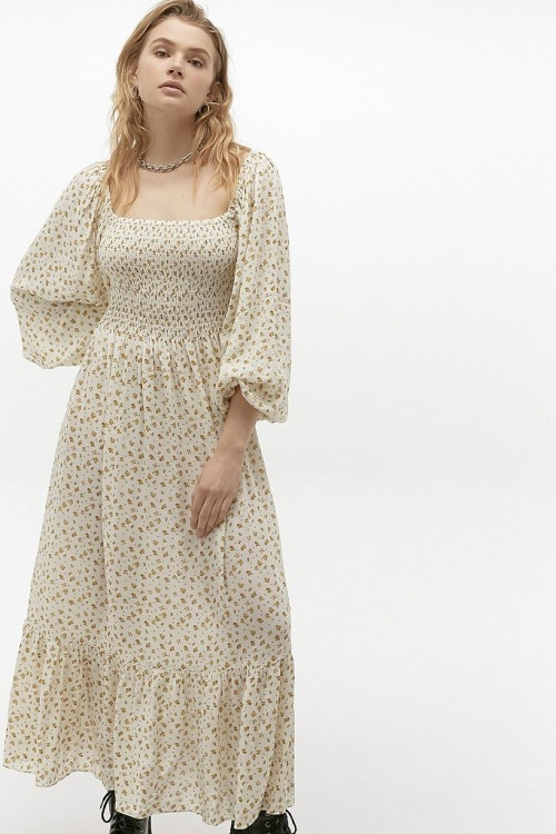 Urban Outfitters - Robe froncée