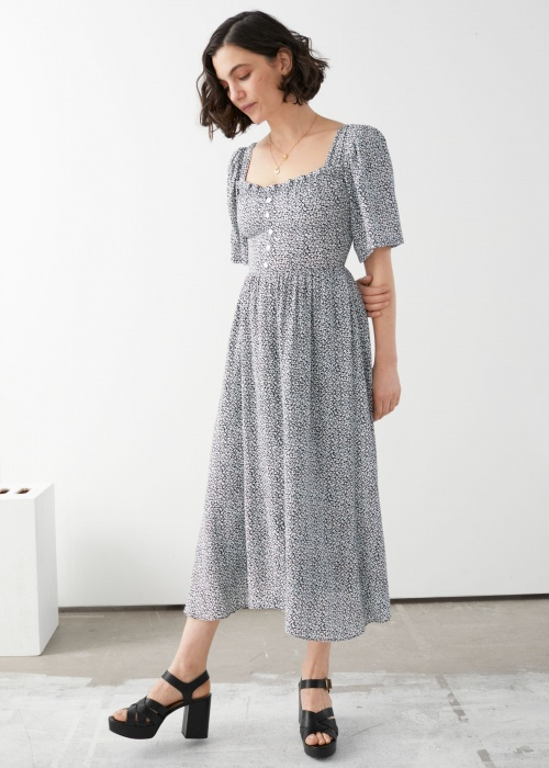 & Other Stories - Robe maxi
