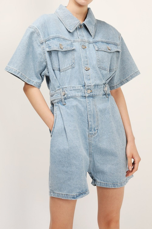 Storets - Combishort en jean