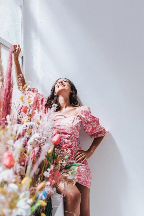 Frida - Robe fleurie