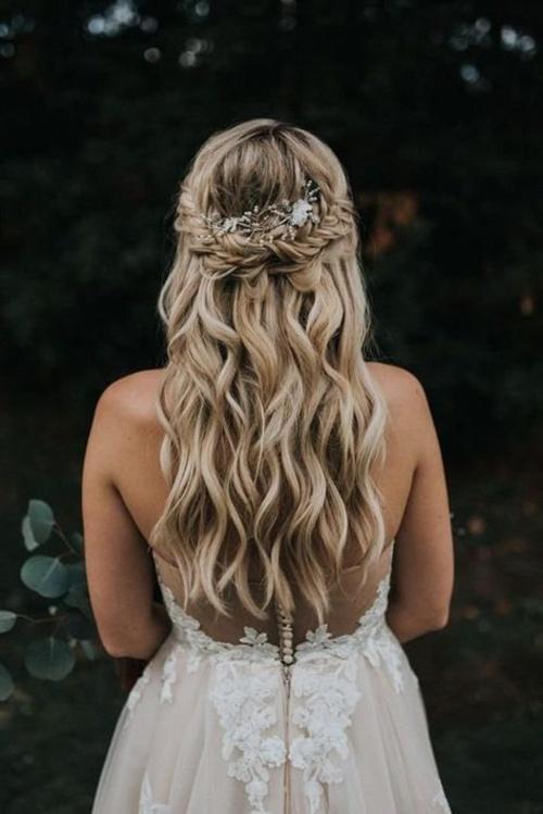 GlamourBrideUSA - Pièce de cheveux de mariée