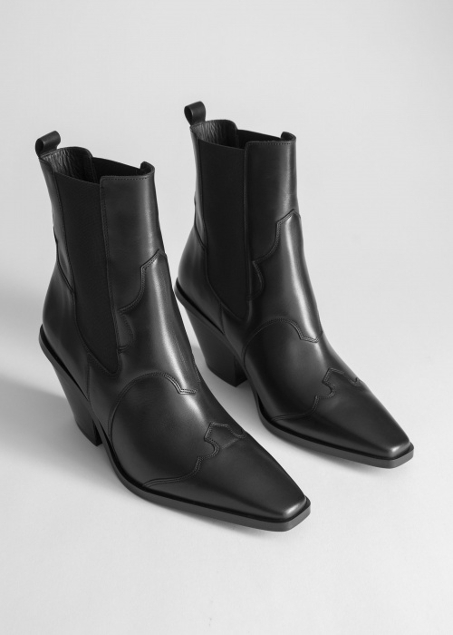 & Other Stories - Bottes western
