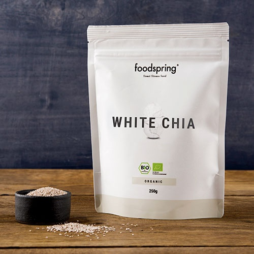foodspring - Graines de chia blanches