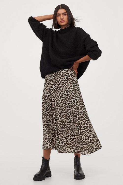 H&M - Jupe léopard