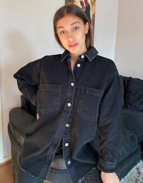 Topshop - Chemise en jean