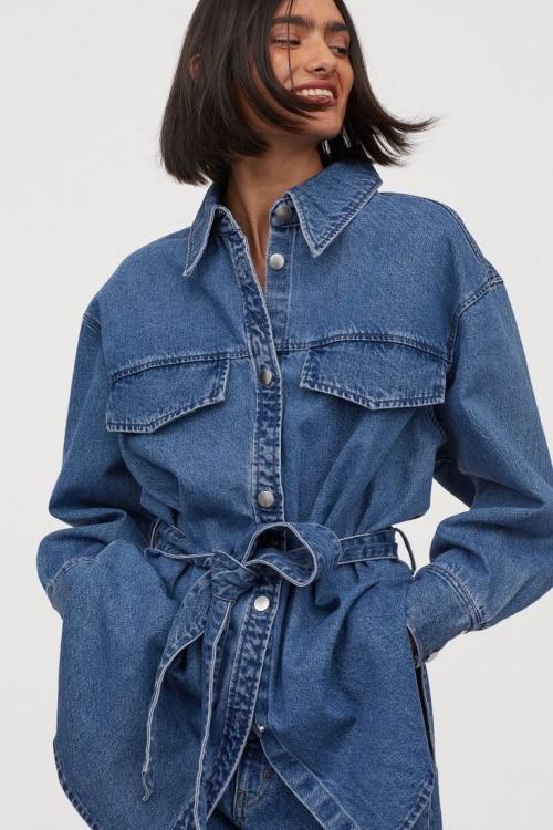 H&M - Surchemise en jean