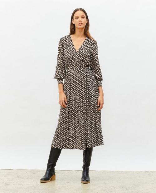 Comptoir des cotonniers - Robe portefeuille