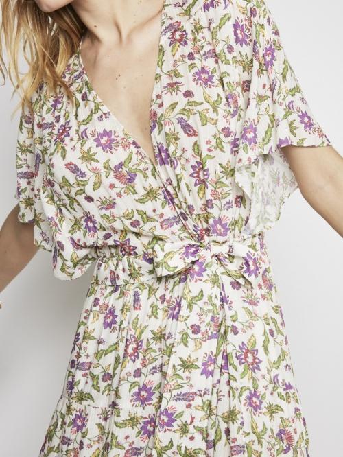 Bérénice - Robe imprimée fleurie