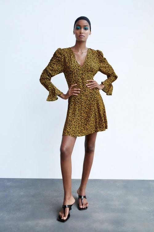 Zara - robe courte imprimée