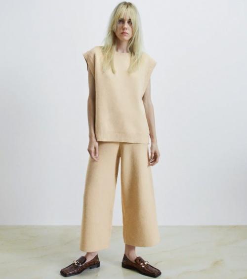 Zara - Pull manches courtes