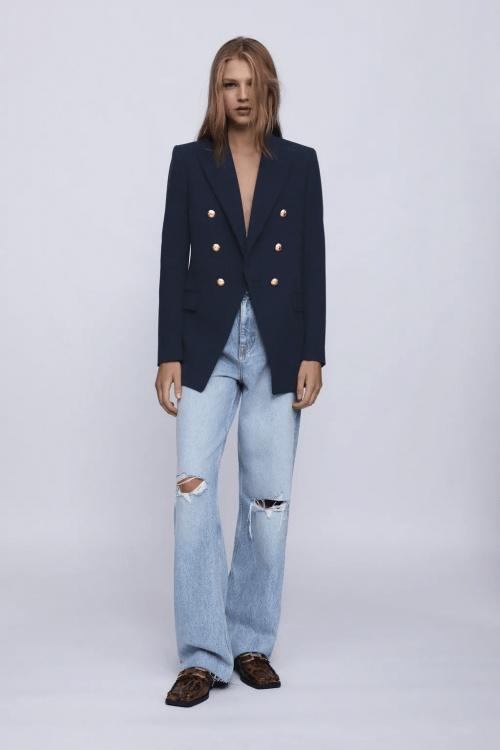 Zara - Veste à boutons