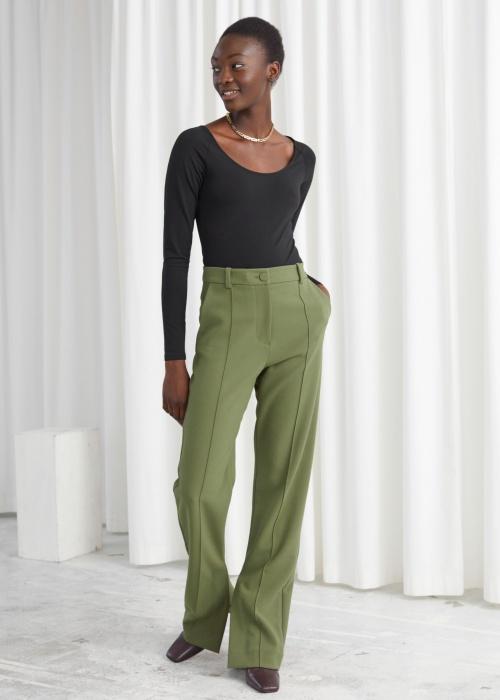 &Other Stories - Pantalon taille haute