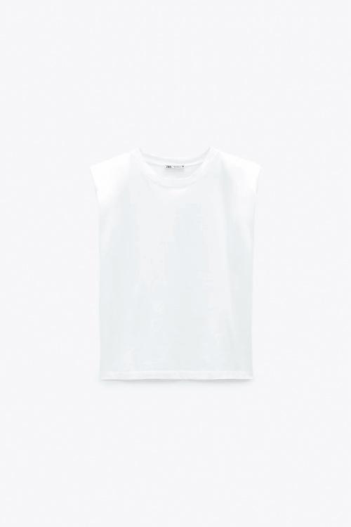 Zara - Débardeur blanc