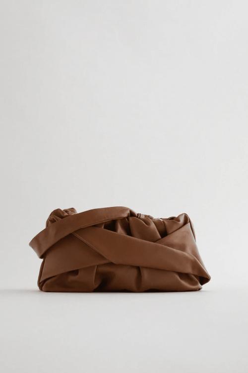 Zara - Sac à main à plis