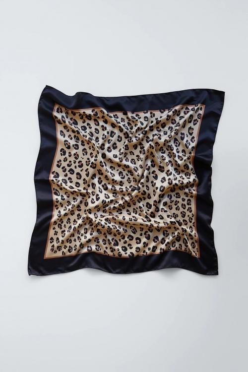 Zara - Foulard imprimé animalier