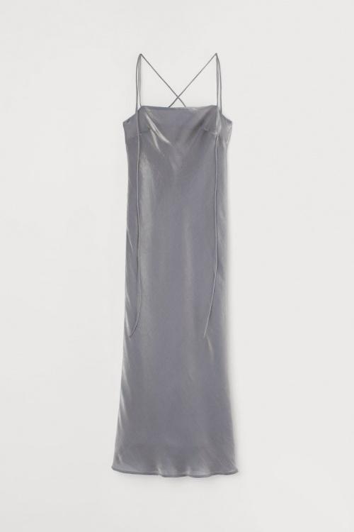 H&M - Robe métallisé