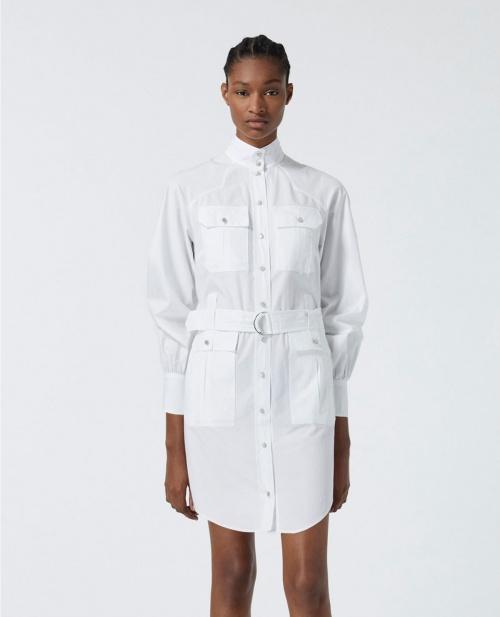 The kooples - Robe chemise à ceinture