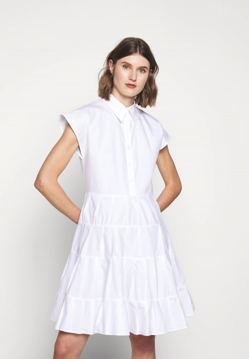 See by Chloé - Robe chemise blanche
