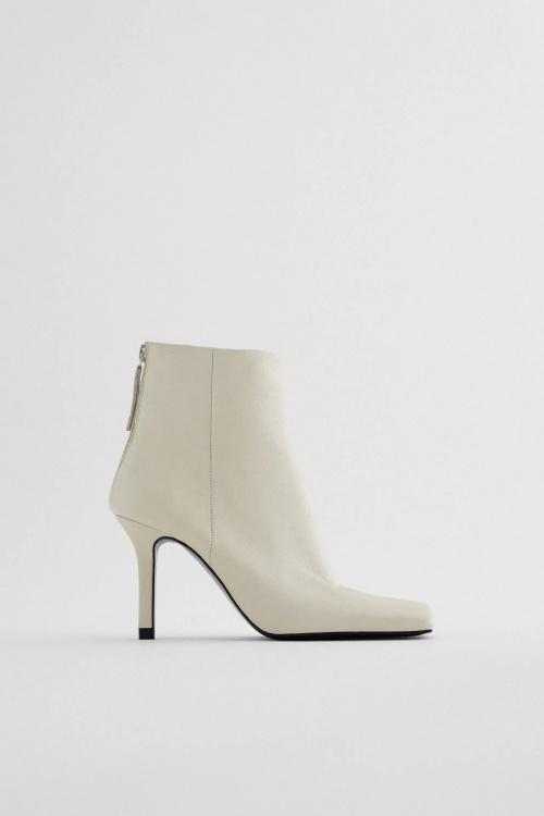 Zara - Bottes à bout carré