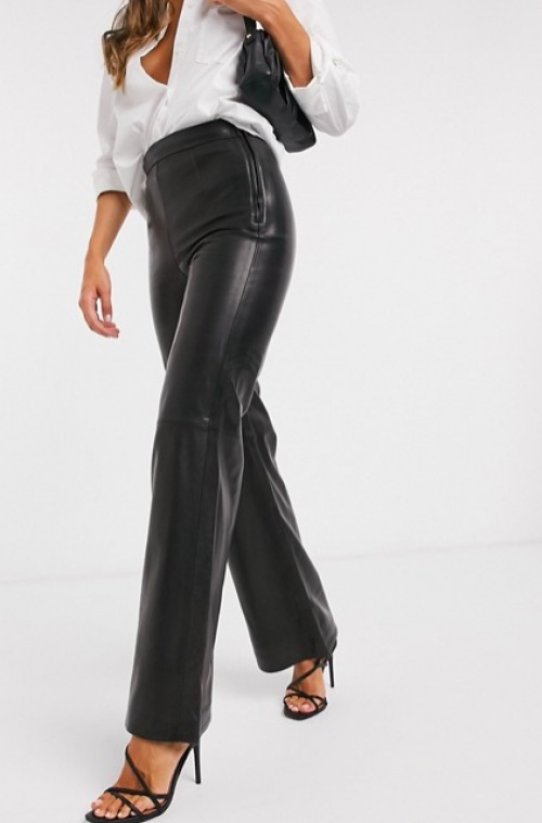 & Other Stories - Pantalon en cuir