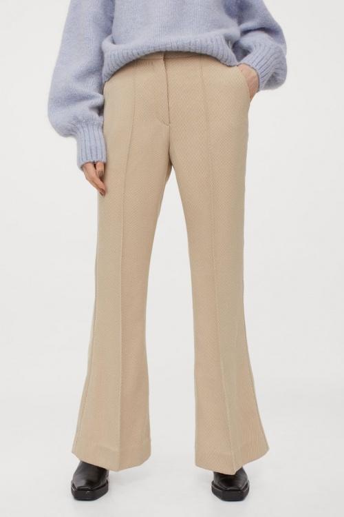 H&M - Pantalon tailleur évasé