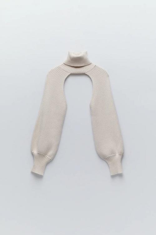 Zara - Manchons en maille