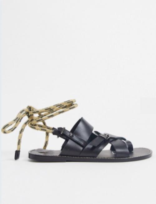ASRA - Sandales avec cordons