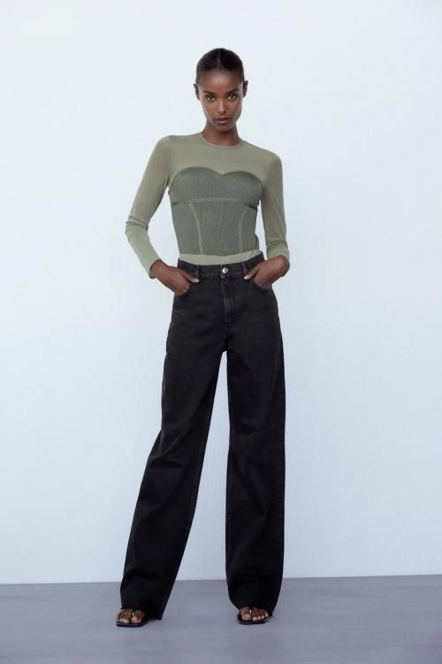 Zara - Body en bi-matière