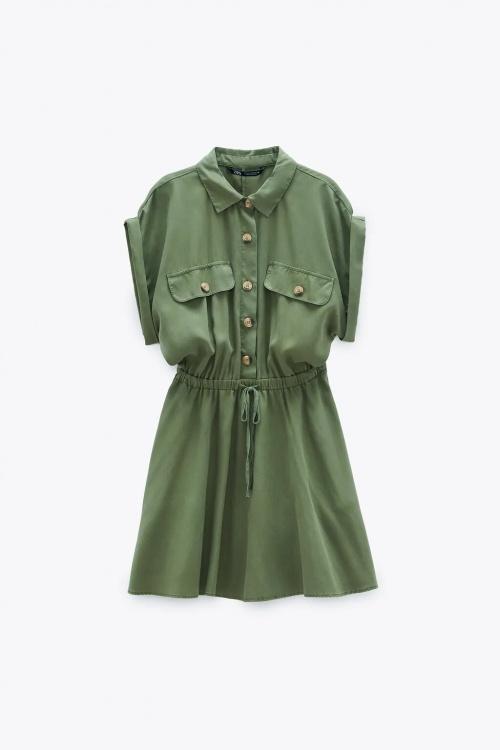 Zara - Robe avec poches