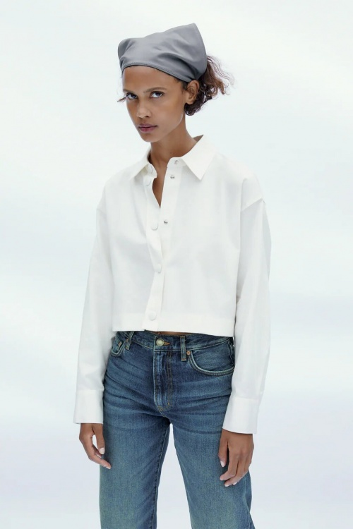 Zara - Chemise courte