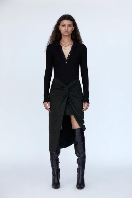 Zara - Jupe à noeud
