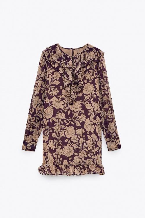 Zara - Robe fleurie