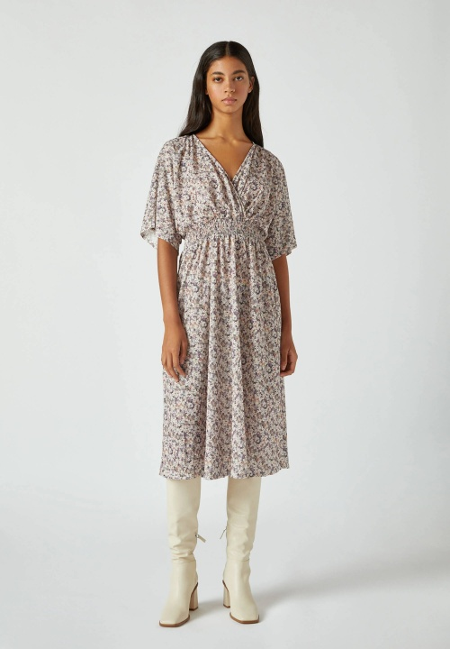 Pull and bear - Robe fleurie