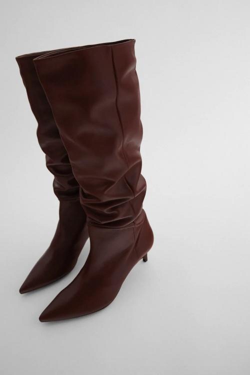 Zara - Bottes hautes à talons