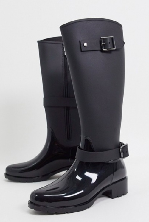 Asos DESIGN - Bottes brillantes