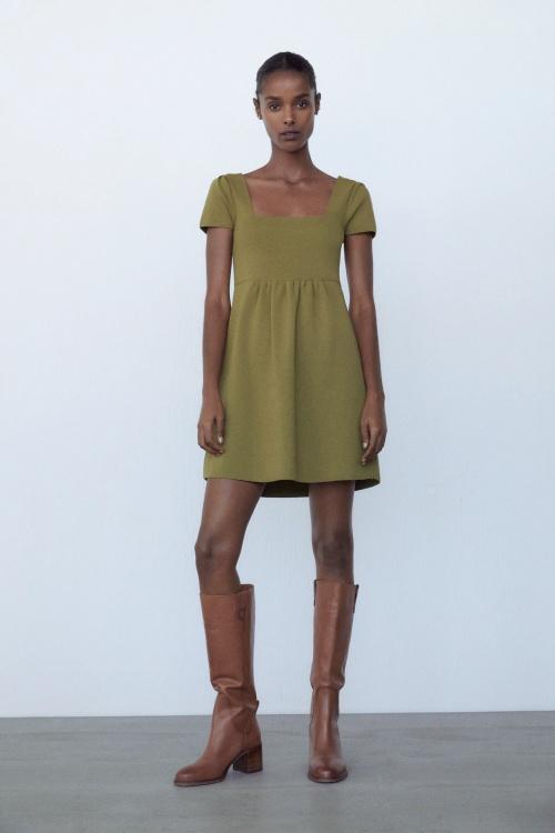 Zara - Robe courte en maille