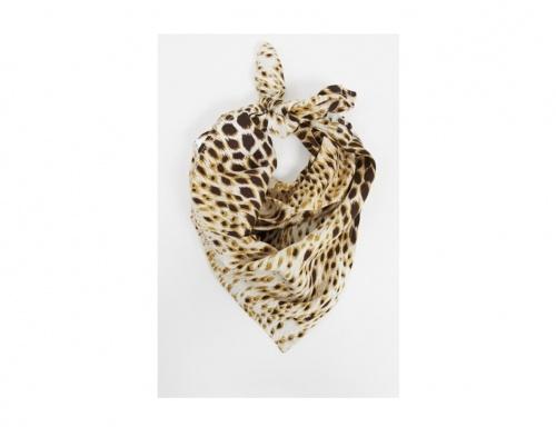Motel - Bandana imprimé léopard des neiges