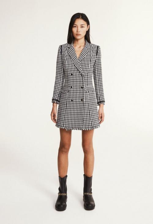 Claudie Pierlot - Robe blazer en tweed