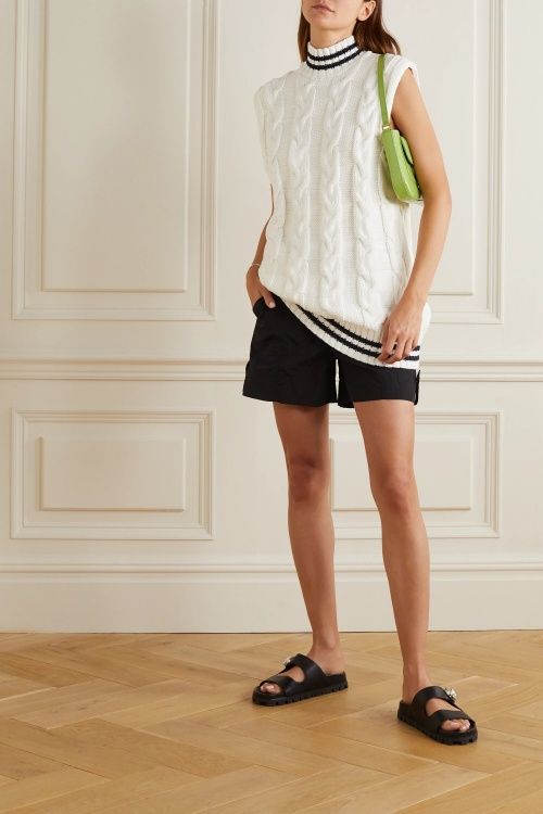 Gianni - Pull sans manches col montant