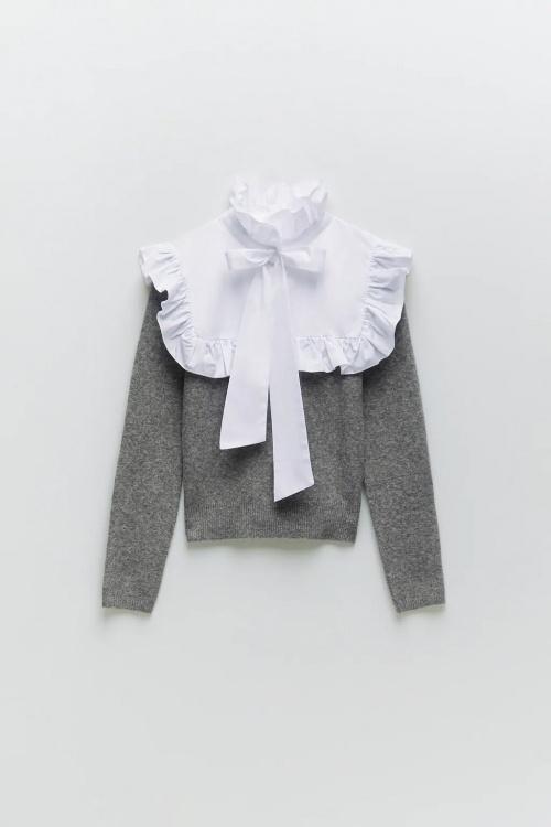 Zara - Pull bimatière