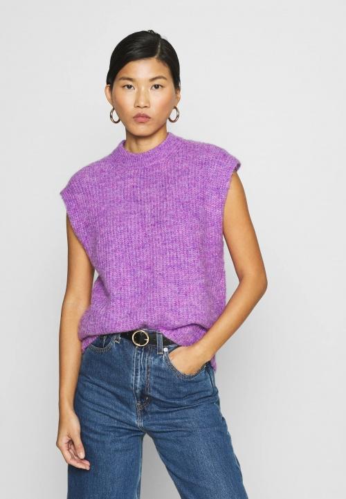 Résumé - Pullover violet