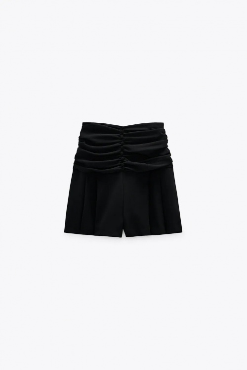 Zara - Jupe-short à fronces