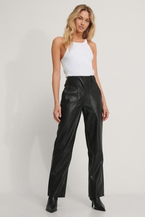 Na-KD - Pantalon faux cuir