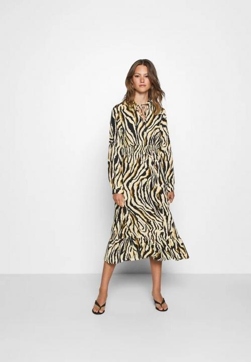Only - Robe longue à imprimé