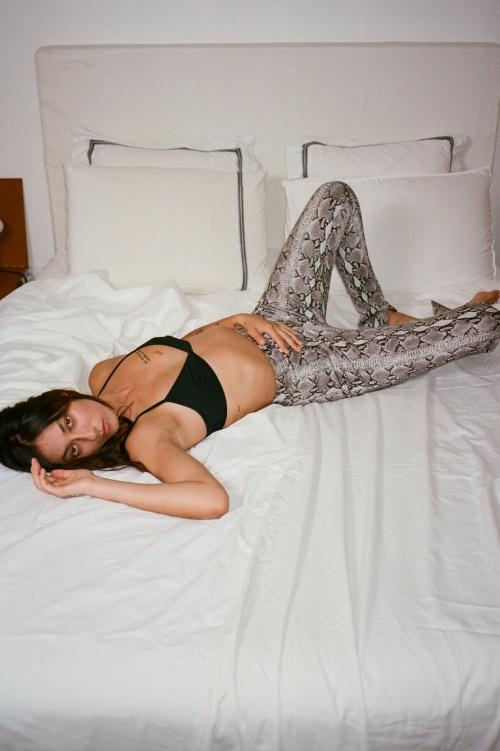 Marcia - Pantalon imprimé python
