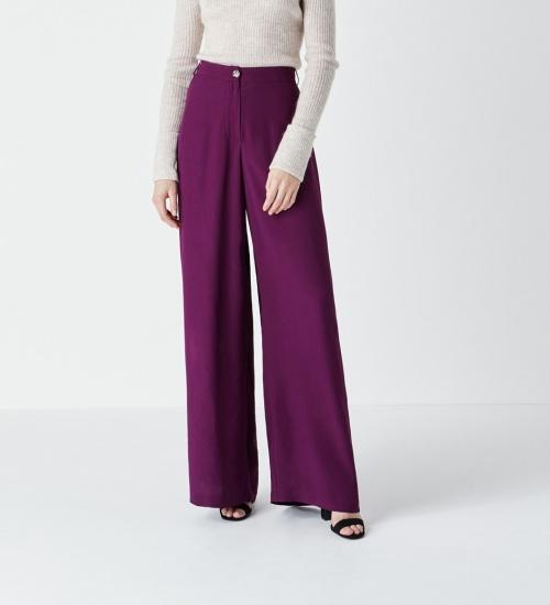 Fînery - Pantalon aubergine