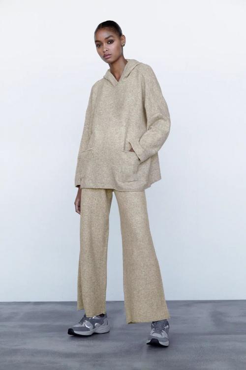 Zara - Sweat oversize en maille