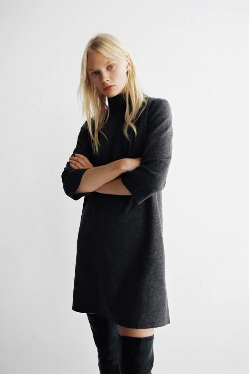 Zara - Robe col montant